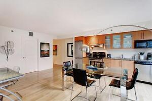 Furnished Luxury unit, Downtown location, many amenities