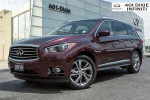 2015 Infiniti QX60 TECH PKG! MUST SEE!! BEAUTIFUL COLOR!