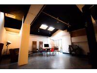 4 x 600-800sqft Live/ Work Spaces.All bills inc....Huge Work areas, High Ceilings.Cool Interiors..