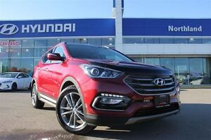 2017 Hyundai Santa Fe Sport 2.0T/AWD/Heated Seats/Nav/Leather