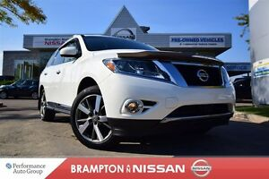 2013 Nissan Pathfinder Platinum *Leather,Navigation,Rear view mo