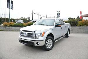 2014 Ford F-150 XLT, CREW CAB 4WD, LOW KMs!