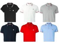 Brand New Moncler Polo Tops, Small & Medium