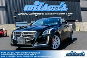 2014 Cadillac CTS LEATHER! NAVIGATION! HEATED+COOLED SEATS! HEAT