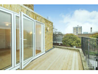 Brand newly refurbished two bedroom apartment with private terrace ideally located in Islington N1