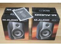 Pair of M-Audio BX5 Carbon speakers - excellent condition