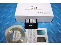 Bluetooth V4.0 Car Scanner OBD2 Code Reader Vgate iCar 3 For Android & iPhone