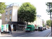 * Private landlord * Newly pained * 2 bed compact, modern TOP floor flat * Wood floors * Near tube *