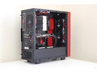 NZXT S340 Red and Black Edition. Excellent Condition.