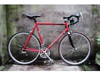 SPECIALIZED ALLEZ A1, 22.5 inch, racer racing road bike, carbon fork, 18 speed, very light weight