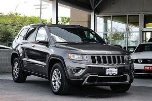 2014 Jeep Grand Cherokee 4x4 Limited Local One Owner Trade Leath