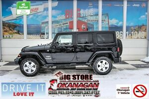 2011 Jeep WRANGLER UNLIMITED Sahara, One Owner! Super Clean!