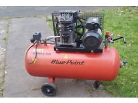 Blue Point WSBP 12/100 Snap-ON air compressor 100 litres