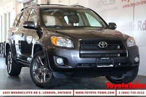 2012 Toyota RAV4 4WD SPORT LEATHER &  MOONROOF NEW BRAKES & TIRE