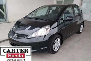 2013 Honda Fit LX + AUTO + A/C + LOCAL + CERTIFIED 7YRS/160,000K