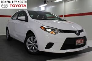 2014 Toyota Corolla LE Btooth BU Camera Cruise Pwr Mirrs Locks S