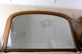 Overmantel mirror - antique
