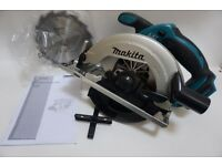 MAKITA DSS611Z 18V LXT LI-ION CIRCULAR SAW 165MM BODY ONLY - NEW
