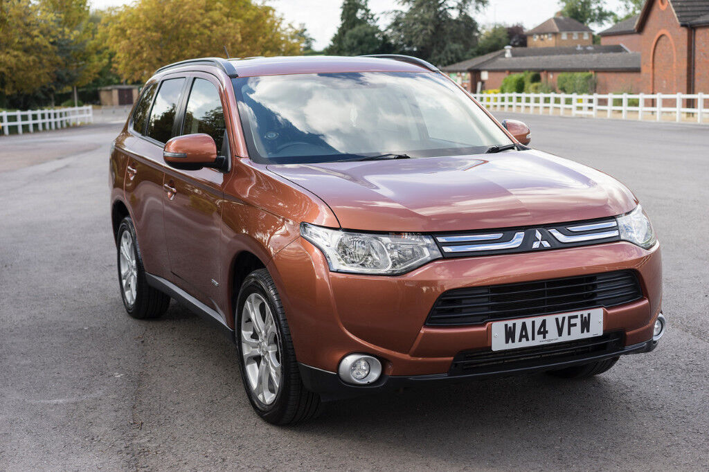2014 14 MITSUBISHI OUTLANDER 2.2 DI-D GX 3 5D 7 SEATER LEATHER PRIVACY O SUV 4X4 MPV ESTATES