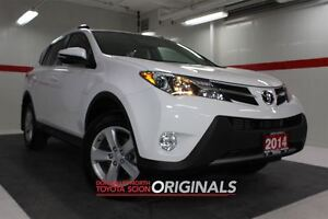 2014 Toyota RAV4 XLE Nav Sunroof Btooth BU Camera Heated Seats C