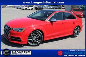 2015 Audi S3 Technik/QUATTRO/GPS/DYNAMIC RIDE