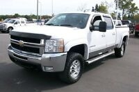 2007 Chevrolet SILVERADO 2500HD DURAMAX LTZ CREW DVD SHORTBOX