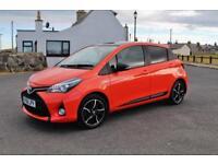 Toyota Yaris Hybrid Orange Edition