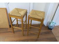 Pair stools good condition