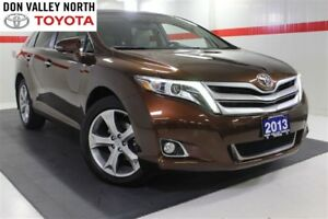 2013 Toyota Venza V6 AWD TOURING PKG Sunroof Nav Heated Lther Bt
