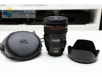 NEAR MINT CANON EF 24-105mm f/4L IS USM LENS