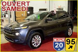 2014 Jeep Cherokee LIMITED * TOIT OUVRANT * CUIR * 6CYL