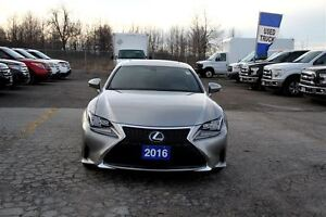 2016 Lexus RC 350 AWD F-SPORT CERTIFIED & E-TESTED!**SPRING SPEC