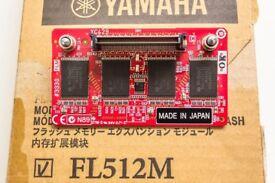 Yamaha FL512M 512MB Expansion Flash Memory Module