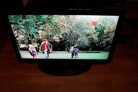 """40"""" SAMSUNG LCD TV,FULLY WORKING,3HDMI,SCART,BUILD IN FREEVIEW,DTV,OPTICAL OUT,GREAT PICTURE & SOUND"""