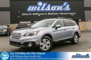 2017 Subaru Outback AWD SUV! TOW PKG! HEATED SEATS! TOUCH SCREEN