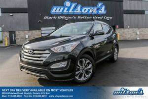 2015 Hyundai Santa Fe Sport SE AWD! LEATHER! PANORAMIC SUNROOF!