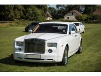 Rolls Royce Phantom £295 / Roll Royce Ghost £350 / Luton / Reading / Essex / Kent / Wedding Car Hire