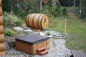 Chalet for rent-meeting with family and friends spa and sauna West Island Greater Montréal image 7