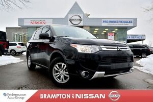 2015 Mitsubishi Outlander ES One Owner With Only 18K's, Rear vie