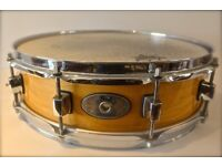 Pearl 14inch maple piccolo snare drum