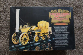 """Hornby Railways 3.5"""" gauge model static model of Stephensons Rocket"""
