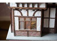 Hand made Tutor Doll's House