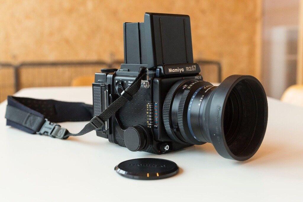 Mamiya RZ67 Pro II 110mm Lens Polaroid back Free Film   in Southside,  Glasgow   Gumtree