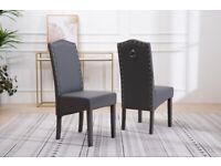 Kitchen Dining Chairs Dark Grey