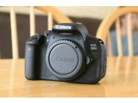 Canon 700D DSLR - Almost New!