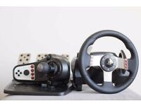 Logitech G27 - Wheel, Pedals and Shifter