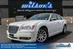 2012 Chrysler 300 LIMITED LEATHER! PANO SUNROOF! NEW TIRES! POWE