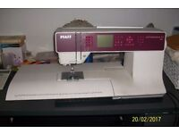 Sewing Machine Pfaff 4.2 I year old. Excellent condition. Extension table and accessories.