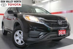 2016 Honda CR-V LX AWD Btooth BU Cam Pwr Wndws Mirrs Locks A/C