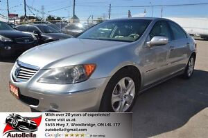 2008 Acura RL SH-AWD Navigation Leather Sunroof